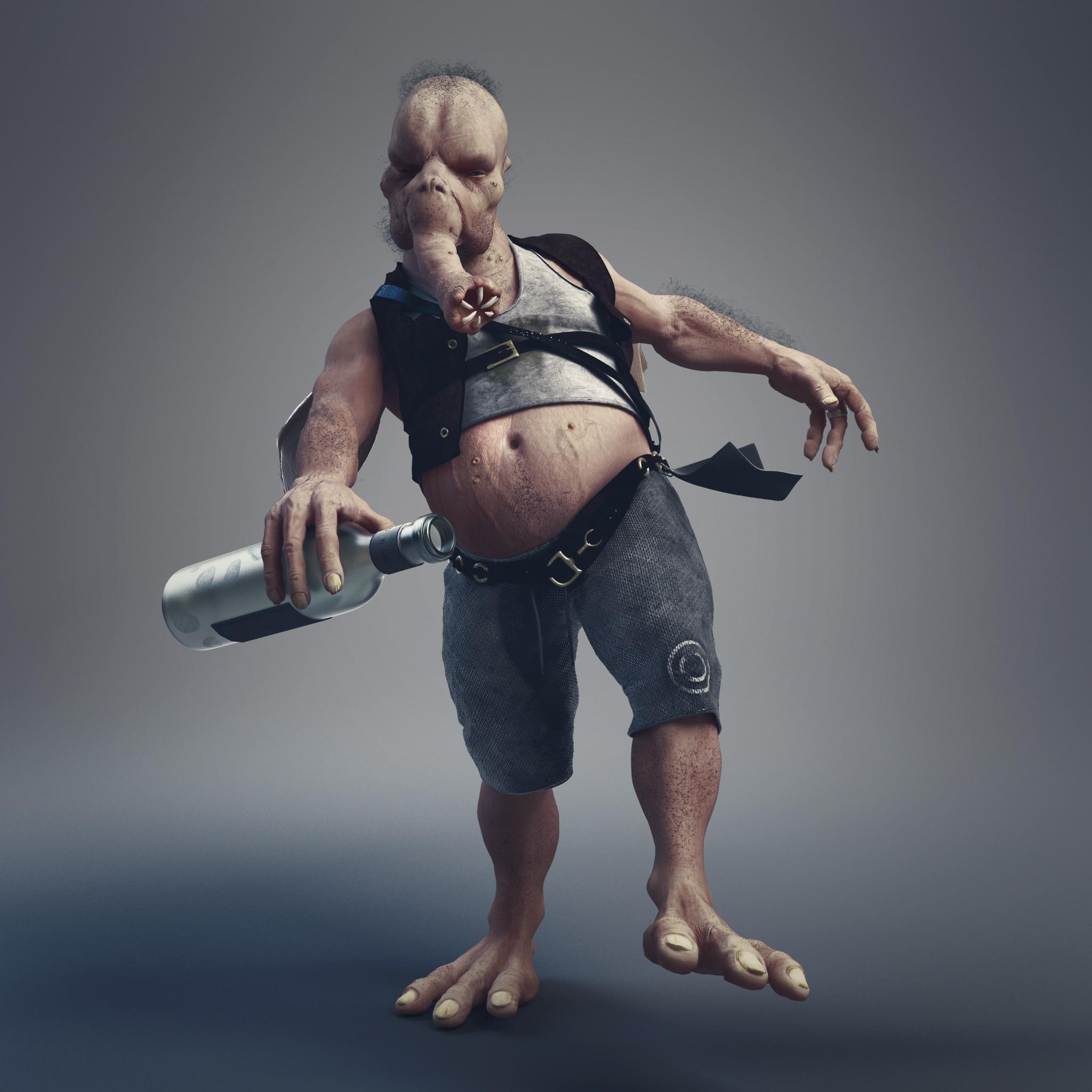 Stephen-Clark-3D-Character-Model